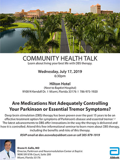 Community Health Talk Miami