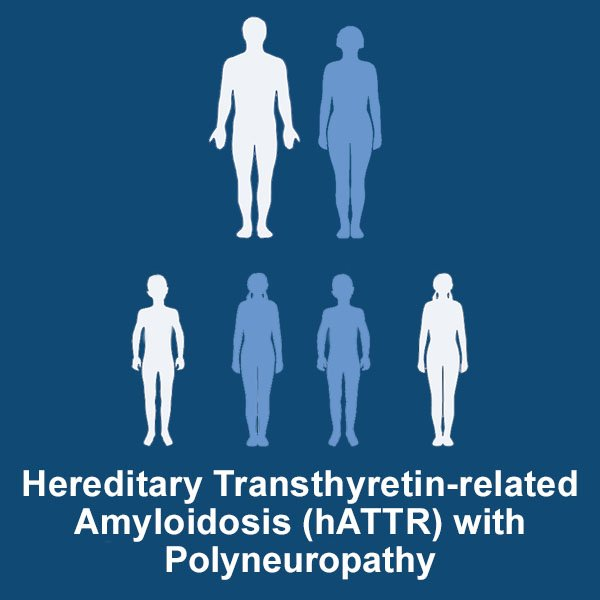 Hereditary Transthyretin-related Amyloidosis (hATTR) withPolyneuropathy